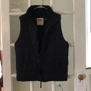 Hollister Sherpa lined vest!